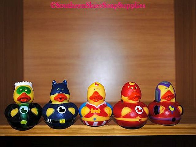 Bath Toy - Squirty Super Hero Duck
