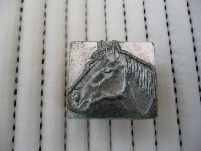 Soap or Leather Stamping Tool - Horse *TO BE SOLD AS A SET ONLY