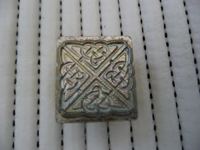 Soap or Leather Stamping Tool - Celtic#2 *TO BE SOLD AS SET ONLY