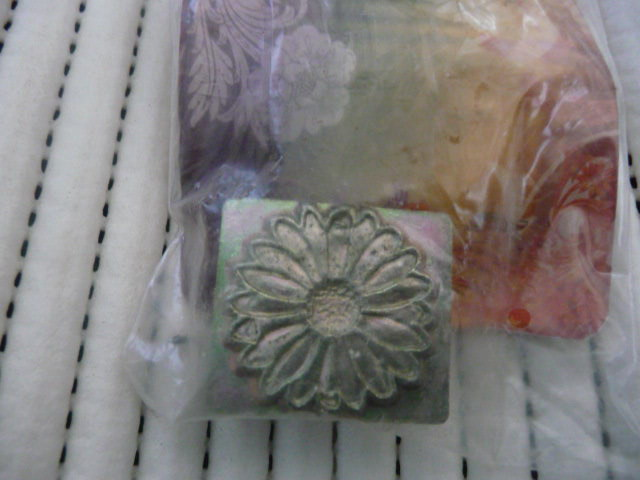 Soap or Leather Stamping Tool - Flower *TO BE SOLD AS A SET ONLY