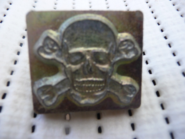 Soap or Leather Stamping Tool - Skull2 *TO BE SOLD AS A SET ONLY