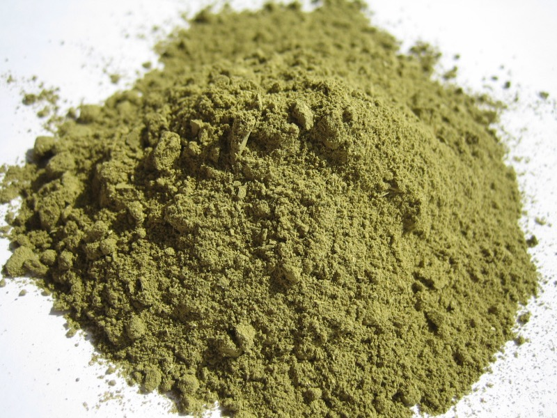 Henna Powder - 10g (Green brown)
