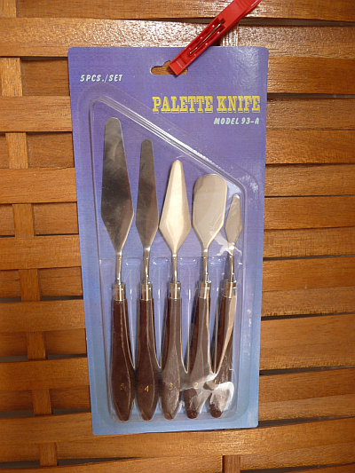 Plaster Clay Trowel Tool Set - 5 pieces